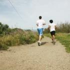 running closer