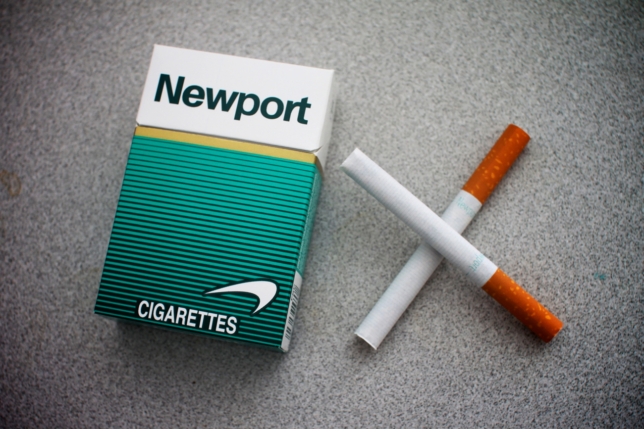 Как сделать сигарету с ментолом