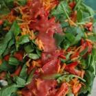 A fresh salad prepared by the SFC