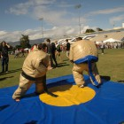 Sumo wrestling was alos a free activity for students.