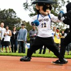 UCSB's own Gaucho Ole takes down cancer in a boxing match