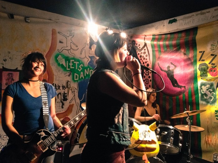 Robyn Weatherby & Isla Vista Punk Band Breaks Musical Norms and Garage Doors | The ...
