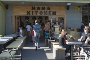 Comfortable Seating Outside Hana Kitchen
