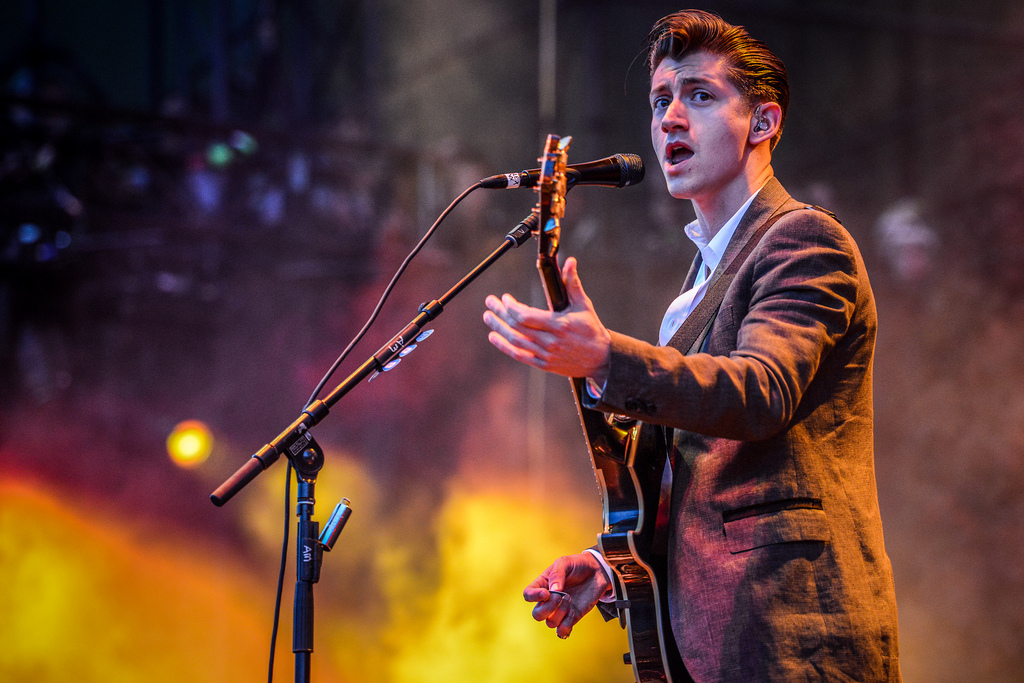 Arctic Monkeys - Photo by Matthew Lamb