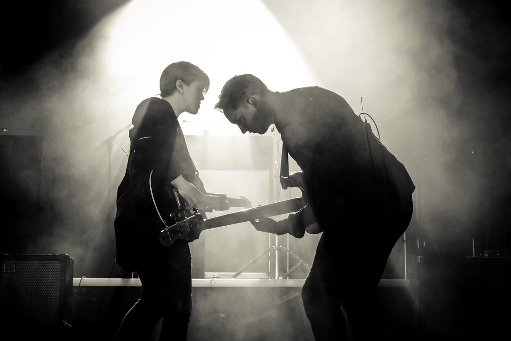 The xx - Photo by Matthew Lamb