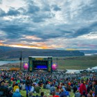Sunset Over Main Stage