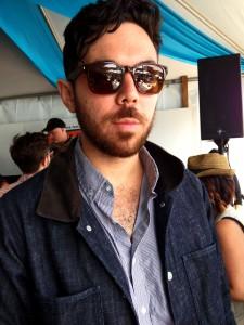 Graham Fink, band member of Milo Greene