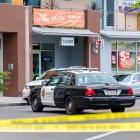 One of nine crime scenes in Isla Vista. (Photo by Lorenzo Basilio)