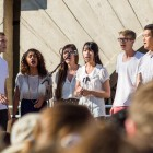 A capella group InterVals were one of the groups who performed at the Come Together event.
