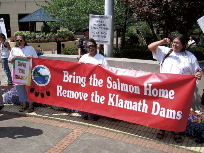 Klamath River Flows Freely Without Those Damn Dams The Bottom Line