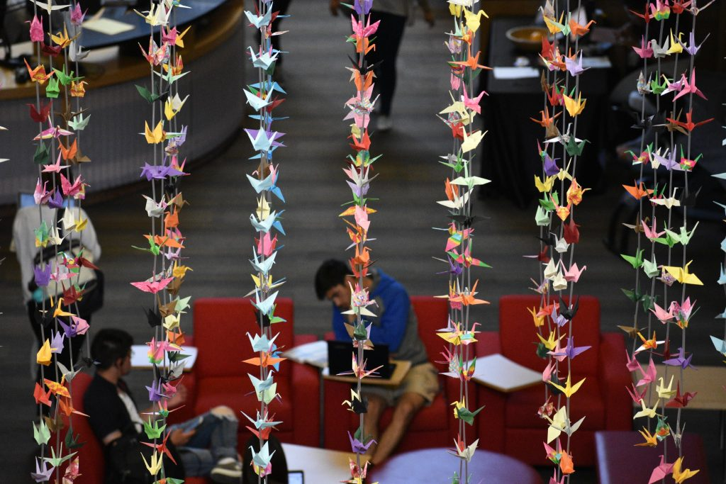 Image result for srb paper cranes ucsb