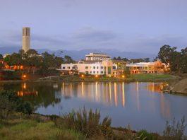Storke Tower Lagoon